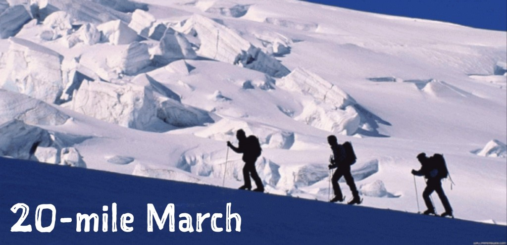 20-Mile March Video
