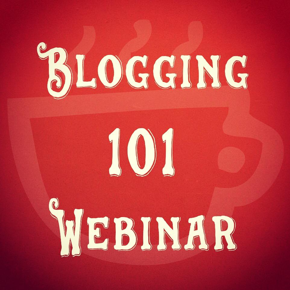 Cuppa SEO Blogging 101 Webinar