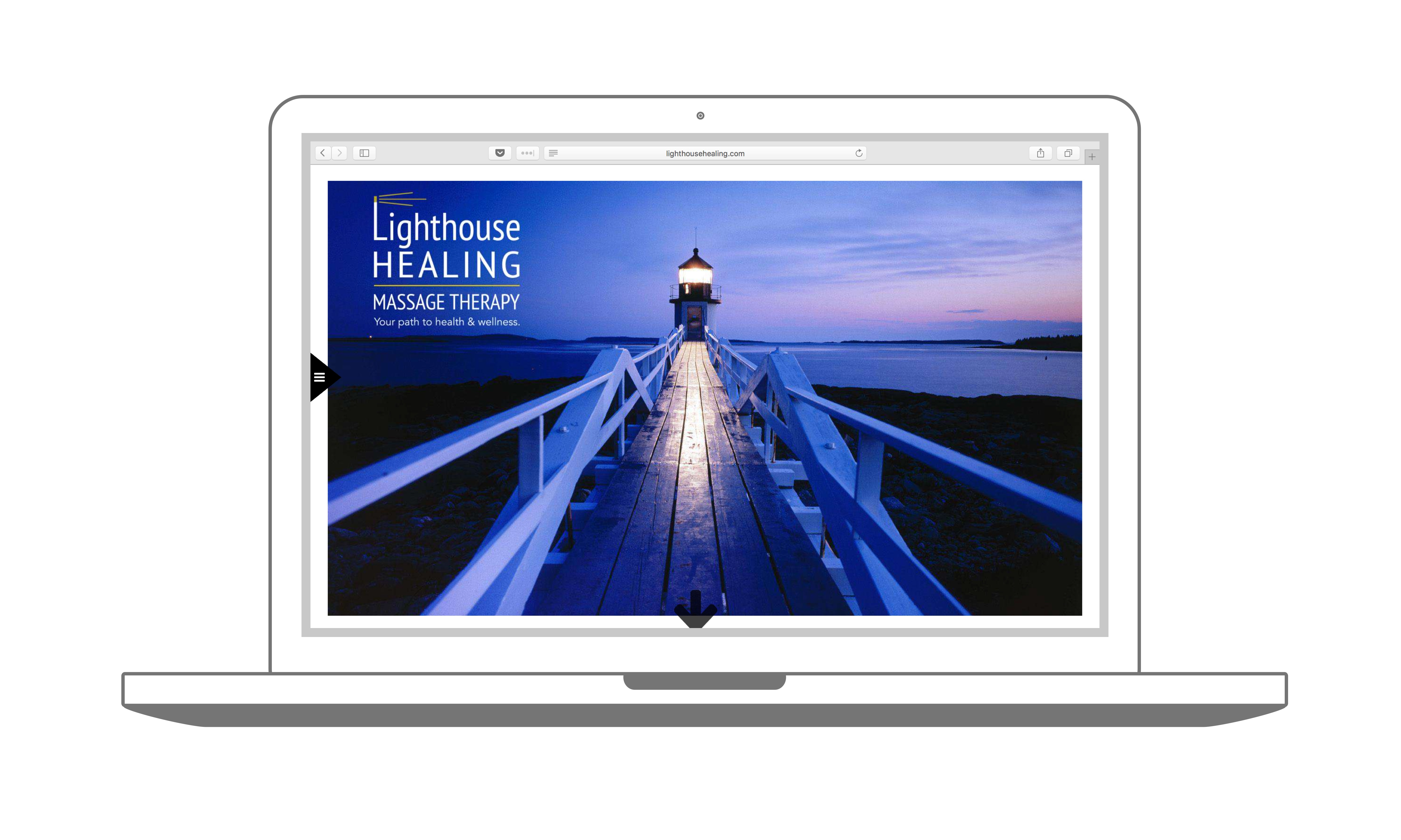 Lighthouse Healing Website Design Madison WI