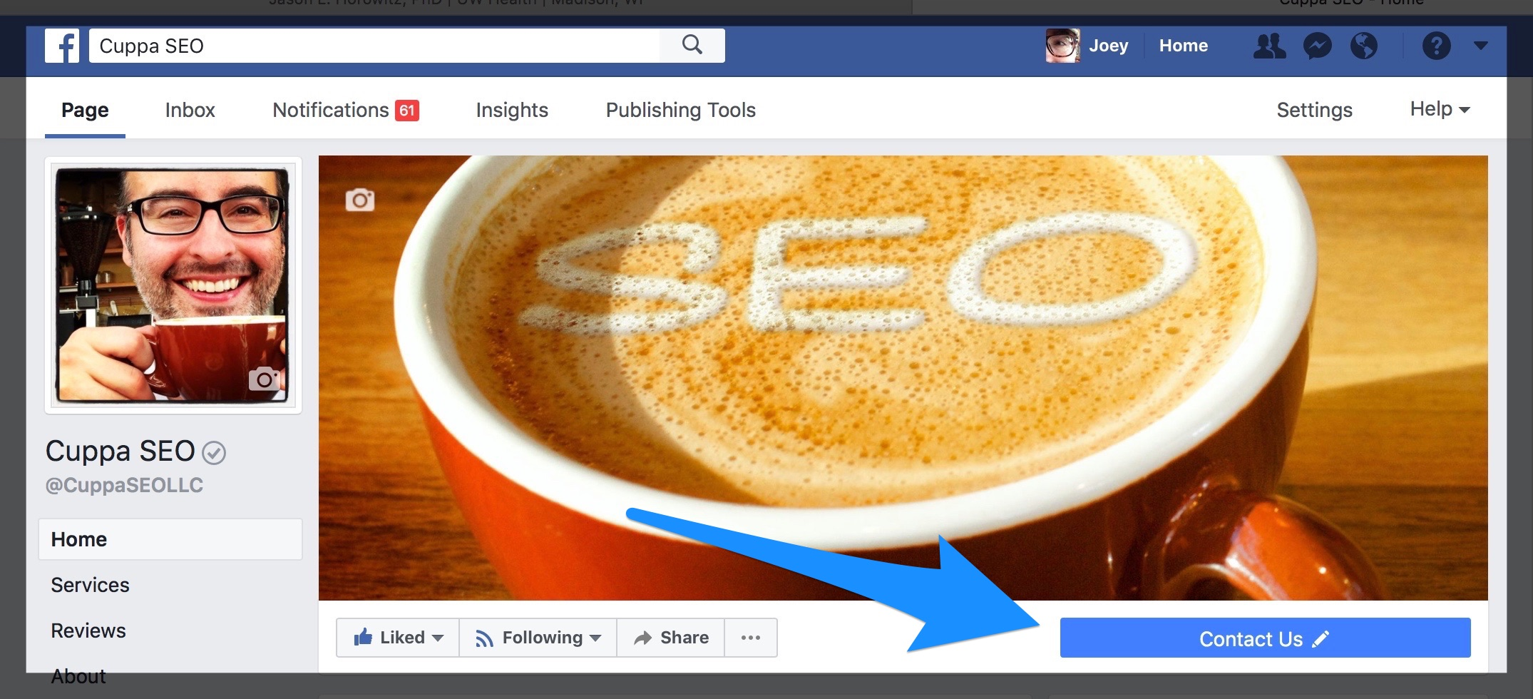 Create Facebook Business Page Website Conversion