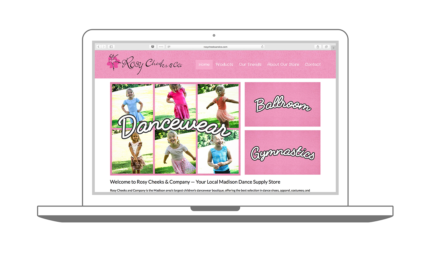 Custom Website Design & SEO Madison Rosy Cheeks