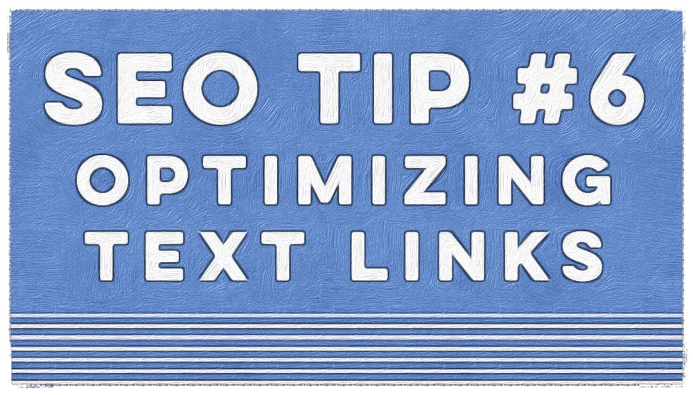 Cuppa SEO Tips Optimizing Your Text Links