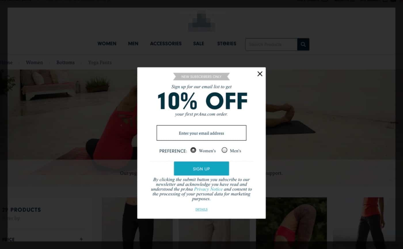Pop Ups are Bad for UX and Conversion