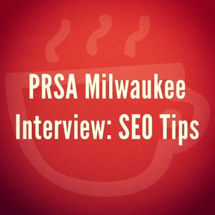 PRSA Interviews Cuppa SEO Web Design Madison