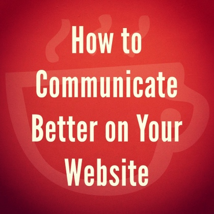 Web Design and Communicating with Visitors