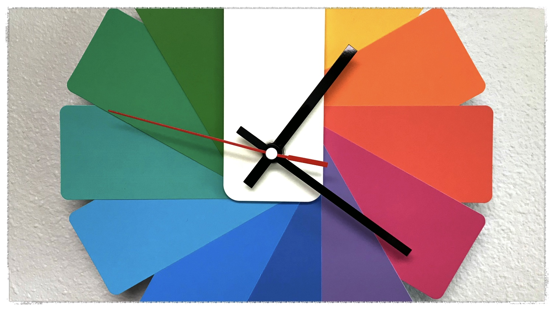 Cuppa SEO Web Design Clock Close Up
