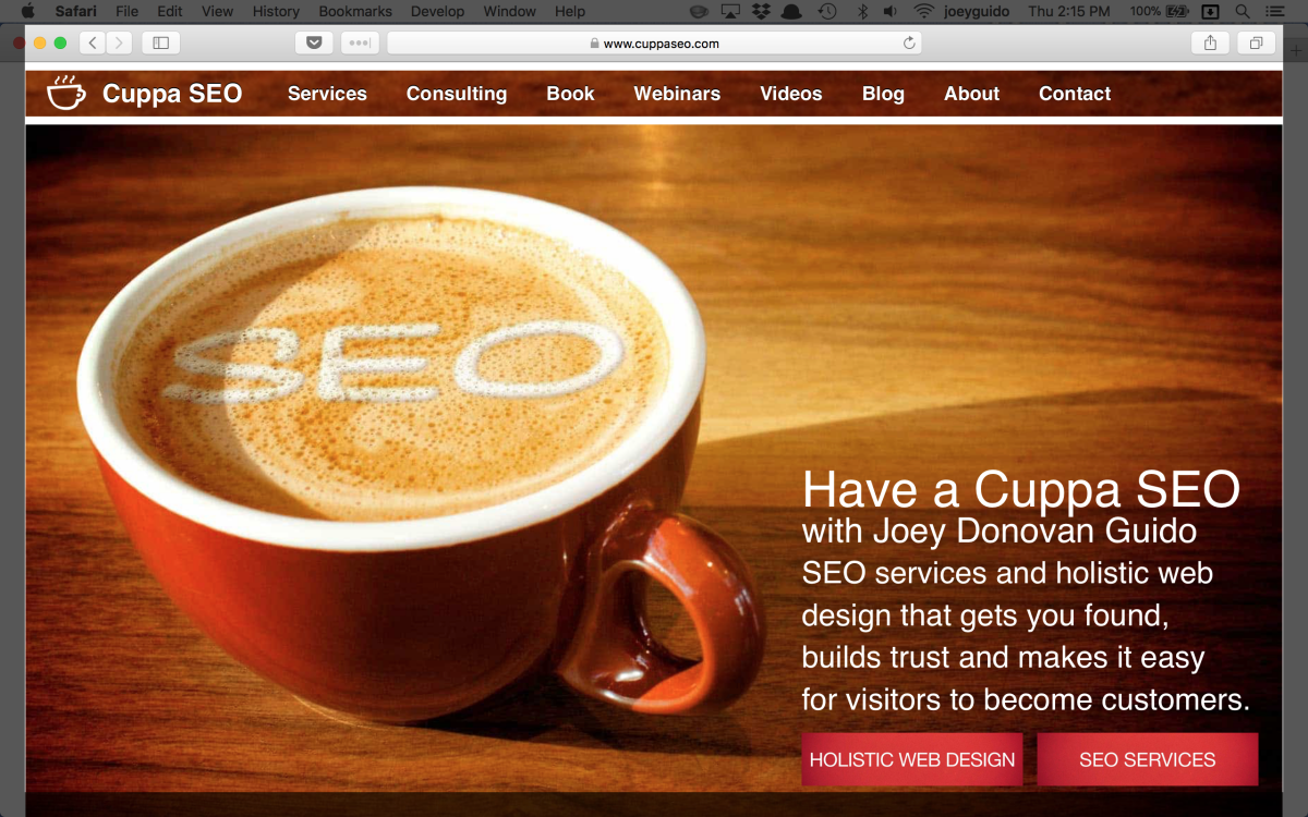 Web Design Madison WI User Experience Example 2A