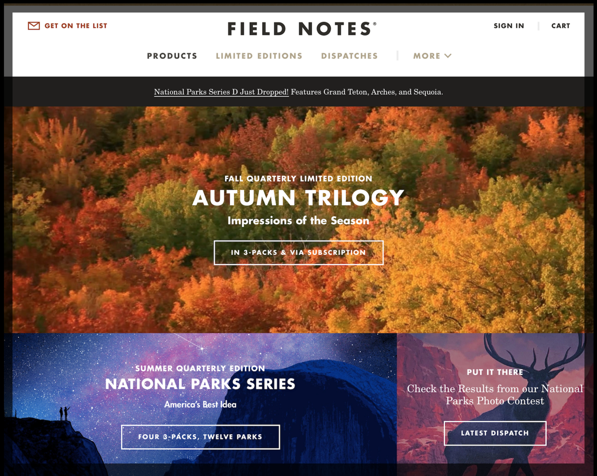 Field Notes Imagery Example from Cuppa SEO Madison WI