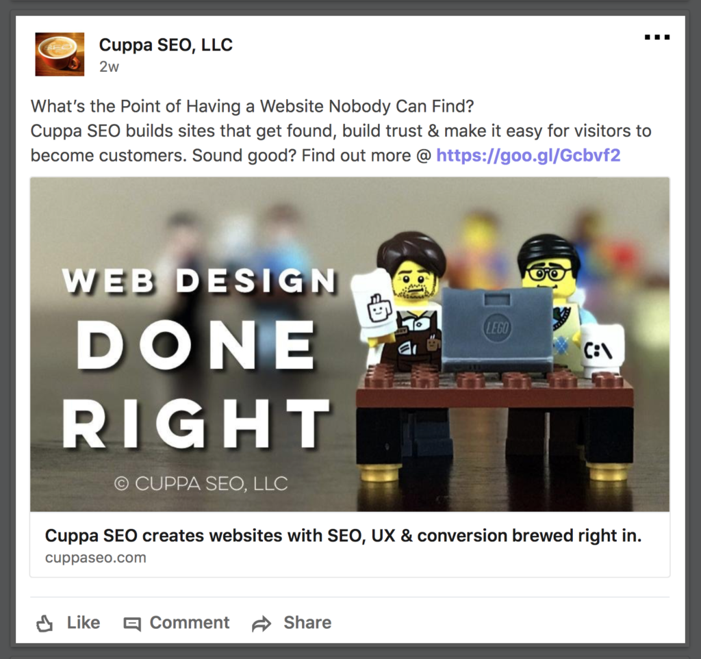 SEO UX and Conversion in Your LinkedIn Posts Cuppa SEO